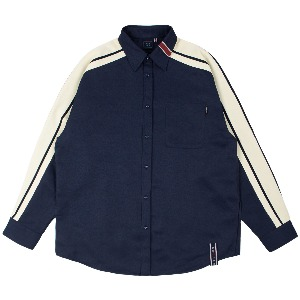 SHOULDER LINE SHIRT_NAVY
